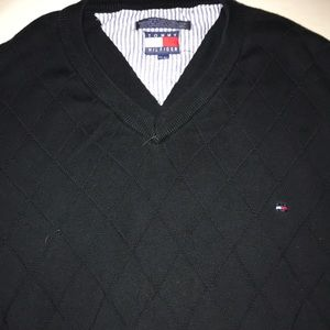 Tommy Hilfiger sweater v-neck blue